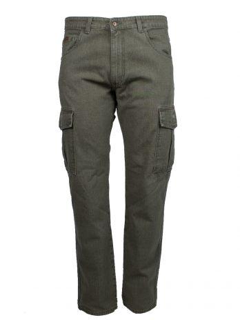 Divest spodnie bojówki męskie zielone Model 206