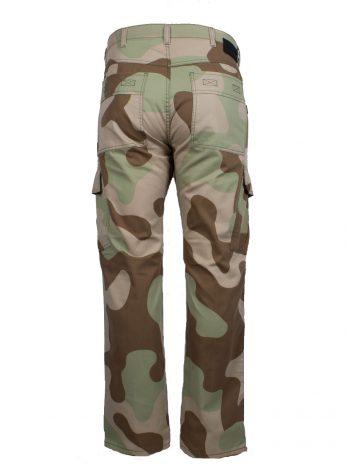 Divest spodnie bojówki męskie moro piaskowe Model 278