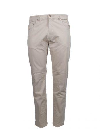 Divest spodnie długie materiałowe jasne słomkowe Model 585