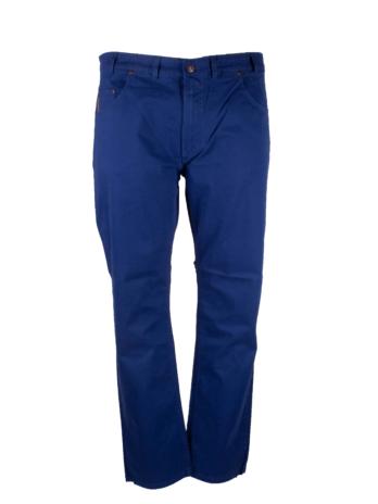 Divest spodnie długie materiałowe niebieskie Model 503