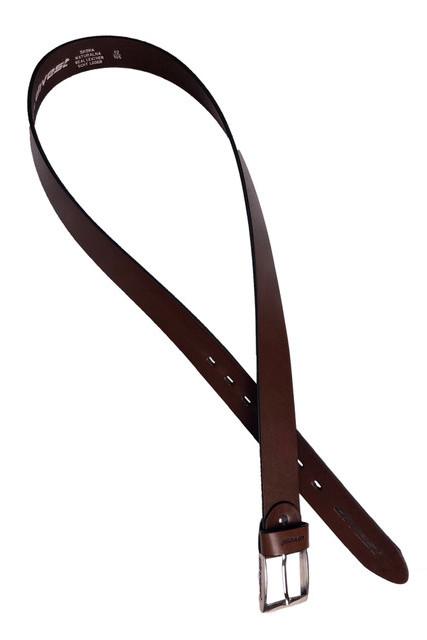 Pasek brązowy divest dla panów Plus-size