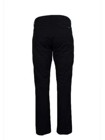 Divest męskie spodnie garniturowe czarne duże rozmiary Model 540