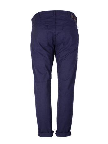 Divest spodnie długie materiałowe niebieskie Model 578