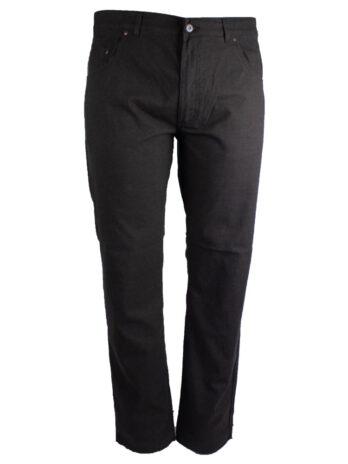 Divest męskie spodnie długie materiałowe szare duże rozmiary Model 579