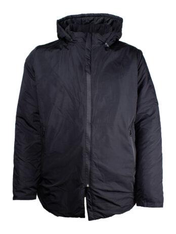 Długa męska kurtka zimowa z Kapturem marki Old Star duże rozmiary