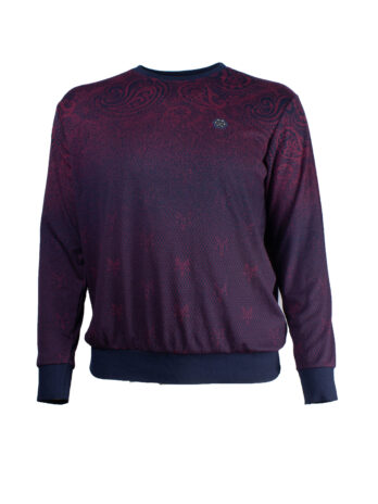 Sweter męskie La Grande Granatowo/burgundowy