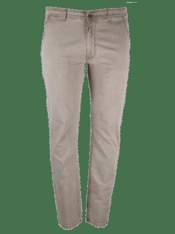 Divest męskie spodnie długie chinos jasny len duże rozmiary Model 533