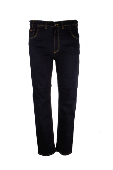Spodnie jeansowe czarne model 179