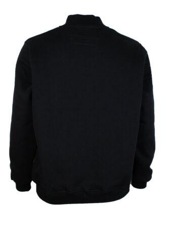 Bluza męska czarna bez kaptura marki Divest