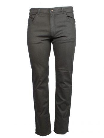 Divest spodnie długie materiałowe khaki Model 567