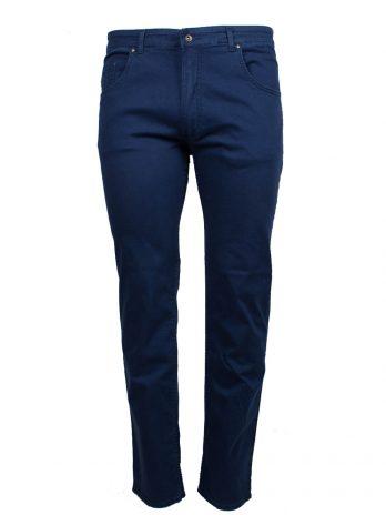 Divest spodnie długie materiałowe ciemne niebieskie Model 568