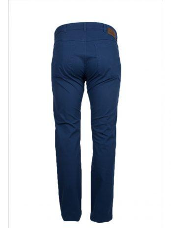 Niebieskie spodnie cienkie materiałowe Divest model 572
