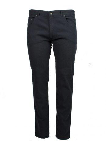Divest męskie spodnie materiałowe niebiesko-szare duże rozmiary Model 573