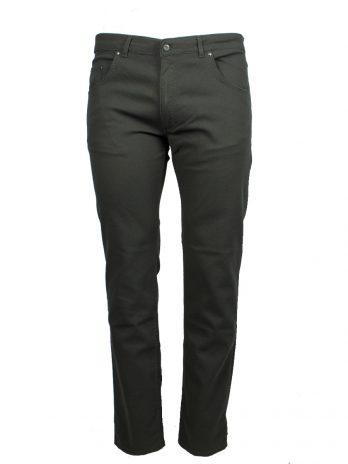 Divest męskie spodnie materiałowe zielone duże rozmiary Model 575