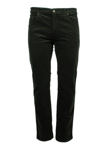 Divest męskie spodnie sztruksowe zielone duże rozmiary Model 588