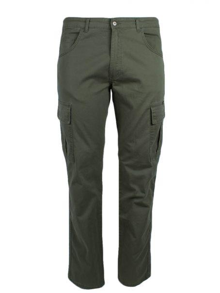 Spodnie bojówki khaki